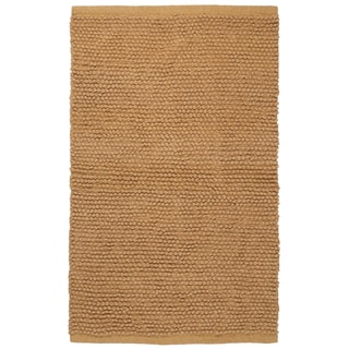 Plush Nubby Tan 30 x 50 inch Bath Rug