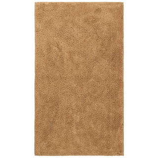 Plush Pile Tan 30 x 50 inch Bath Rug