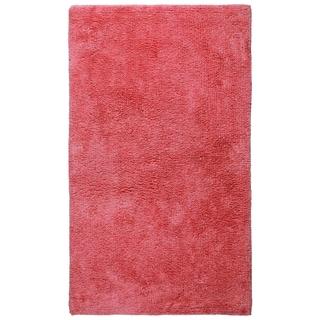 Plush Pink Bath Rug (21 x 34-inch)