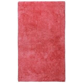 Plush Pink Bath Rug (21 x 34-inch) - 21 x 34