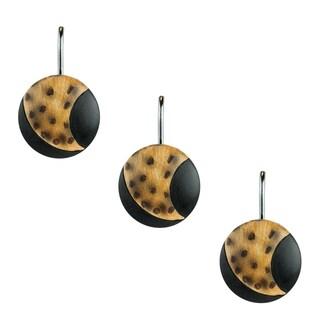Sherry Kline Argenti Leopard Shower Curtain Hooks (Set of 12)