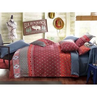 Sherry Kline Spring Garden 3-piece Reversible Print Cotton Duvet Set