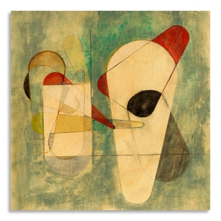 Gallery Direct 'Moderne' Print by Sara Abbott on Birchwood Wall Art