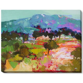 Alex Bertaina 'Parfum de Lilas' Framed Fine Art Print