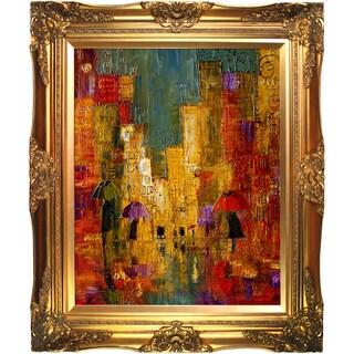 Justyna Kopania 'Street' Framed Fine Art Print