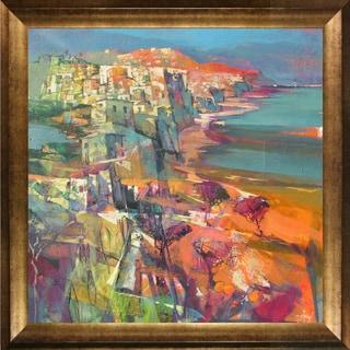 Alex Bertaina 'Pensando al Mare' Framed Fine Art Print