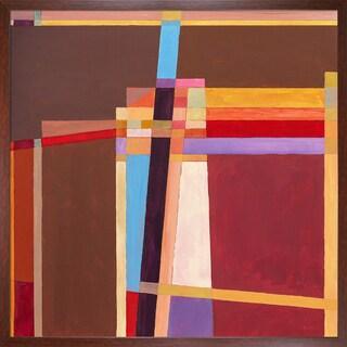 Clive Watts 'Rangle No 5' Framed Fine Art Print