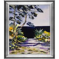Atelier De Jiel 'Seaside' Framed Fine Art Print