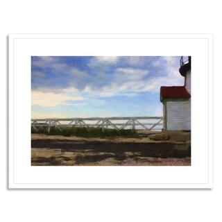 Gallery Direct Curinga, Kim 'Boardwalk' Framed Paper Art