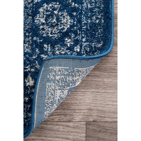 Nuloom Traditional Persian Vintage Dark Blue Rug 9 X 12 Free Shipping Today Com 17741185