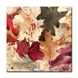 Ready2HangArt 'Fall Ink IX' Canvas Wall Art