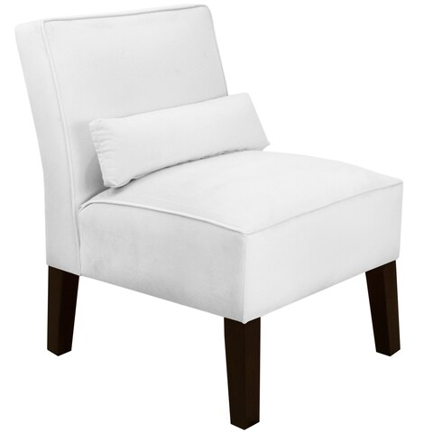 Skyline Furniture Premier White Armless Chair