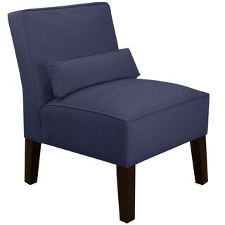 Skyline Furniture Premier Lazuli Blue Armless Chair