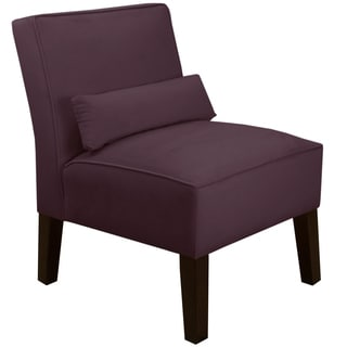 Skyline Furniture Premier Purple Armless Chair