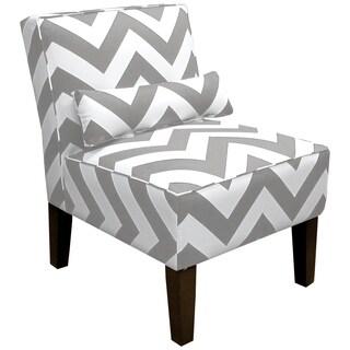 Skyline Furniture Zippy Storm/Twill Armless Chair