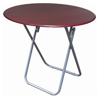 24-inch Medium Round Folding Utilty Table