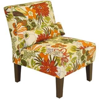 Skyline Furniture Lilith Marigold Armless Chair