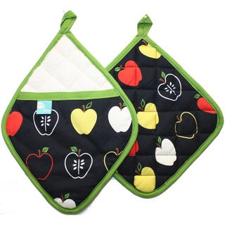 Bobbing Apples Potholder and Pocket Mitt