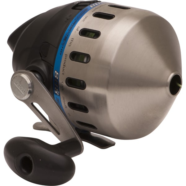 Zebco 808 Bowfishing Reel Stainless Steel Cover-200Lb Braid