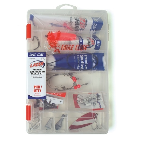 Eagle Claw Pier/ Jetty Saltwater Tackle Kit