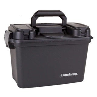 Flambeau 18-inch Dry Box Black Tactical