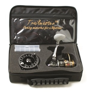 Eagle Claw Trailmaster Reel Travel Kit Spin 6.5-foot Rod