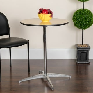 "30"" Versatile height Round Cocktail Table"
