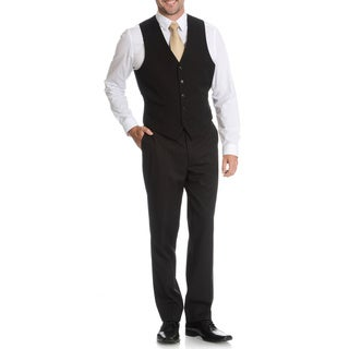 U.S. Polo Men's 'Modele' Balck Suit Separate Vest