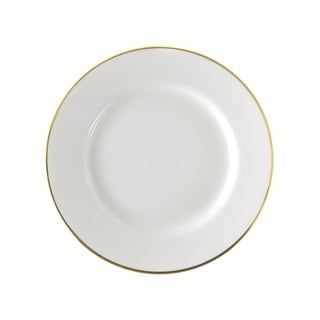 Gold Line Luncheon Plate Set of 6