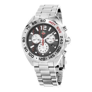 Link to Tag Heuer Men's CAZ1114.BA0877 'Formula 1' Chronograph Stainless Steel Watch Similar Items in Women's Watches