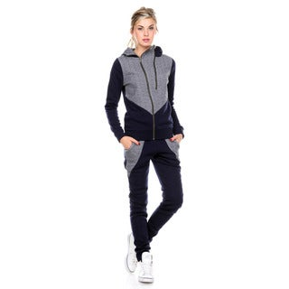 Stanzino Women's Hooded Warm Sweatsuit