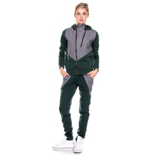 Stanzino Women's Hooded Warm Sweatsuit