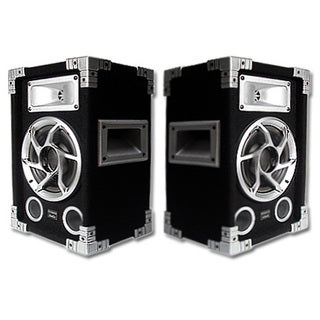 Acoustic Audio GX-400 1200-watt 2-way 6.5-inch Pro DJ PA Speakers