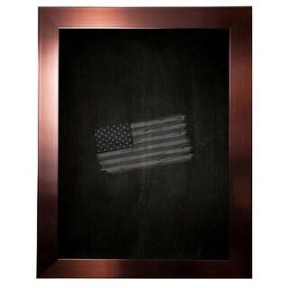 American Made Rayne Shiny Bronze Blackboard/Chalkboard