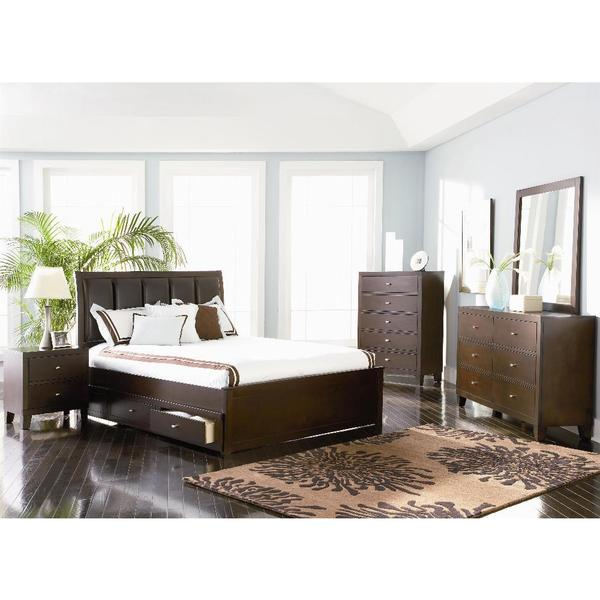 Guardia 6 piece bedroom set free shipping today for Bedroom 6 piece set