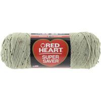 Red Heart Super Saver YarnFrosty Green Fleck