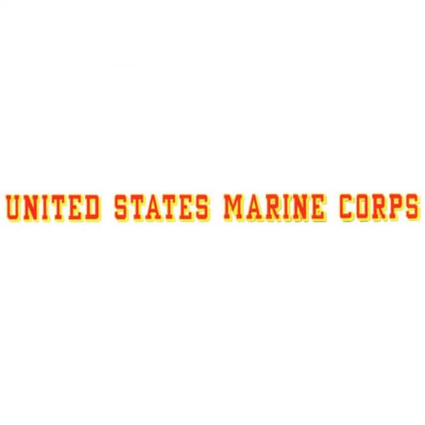 United States Marine Corps Car Decal
