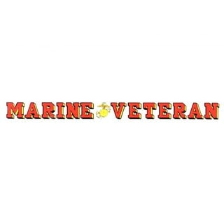 US Marine Veteran Car Decal