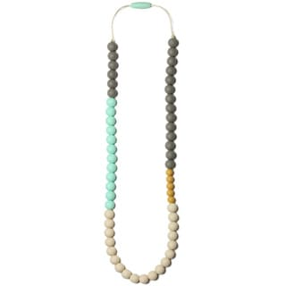 Silicone Teething Necklace for Mom Olivia Nursing Necklace