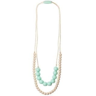 Mama & Little 'Deila' Silicone Baby Teething Necklace for Moms