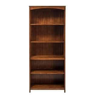 Hampton Bay Cherry 5-Shelf Bookcase