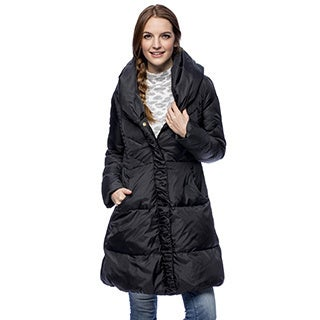 Via Spiga Women's Warm Down-Filled Coat