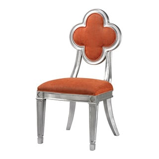 Penryn Orange Petal Back Dining Chair