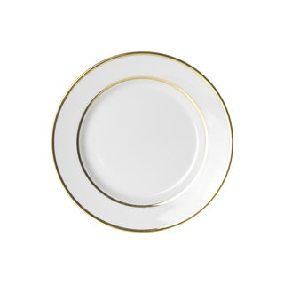 Gold Double Line Salad/ Dessert Plate (Set of 6)