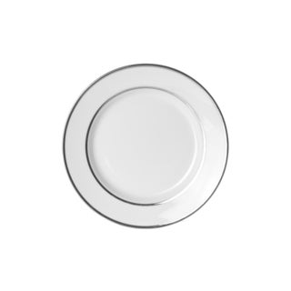 Silver Double Line Bread and Butter Plate (Set of 6)