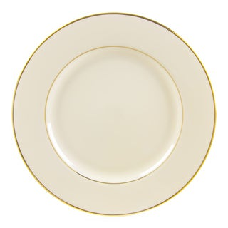 Cream Double Gold Charger Plate (Set of 6)