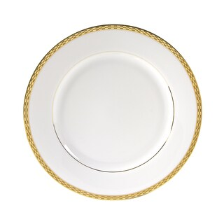 10 Strawberry Street Athens Gold Dinner Plate (Set of 6)