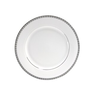 10 Strawberry Street Athens Platinum Luncheon Plate (Set of 6)