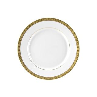 10 Strawberry Street Athens Gold Salad/ Dessert Plate (Set of 6)