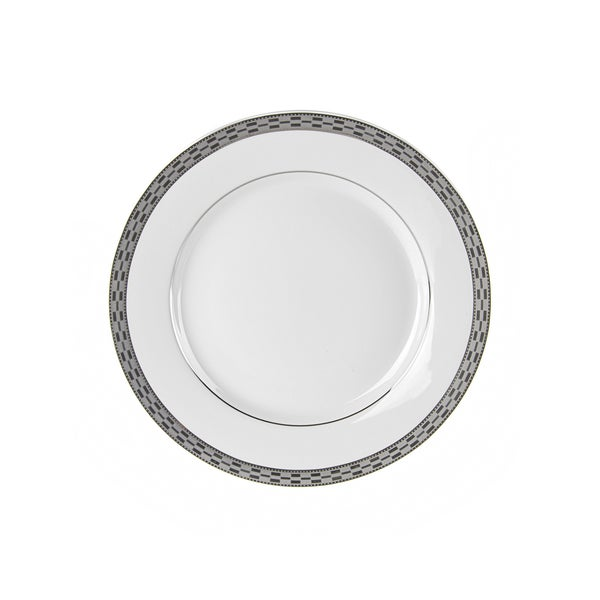 Athens Platinum Salad/ Dessert Plate (Set of 6)